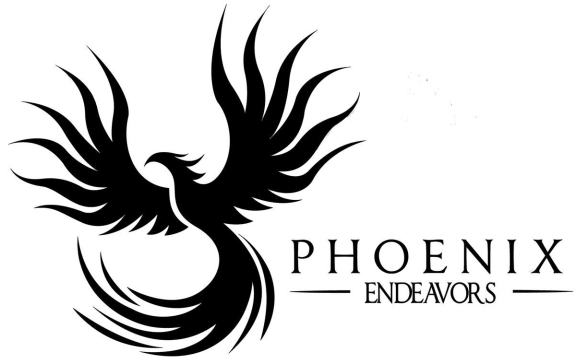 Phoenix Endeavors Official Logo (Black)