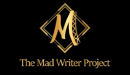 The Mad Writer Project Official Logo Cropped (Black-Without Website)