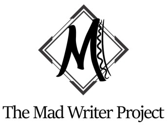The Mad Writer Project Official Logo Cropped (White-Without Website)